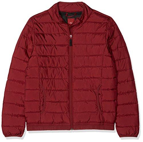 s.Oliver Jungen 62.808.51.3987 Jacke, Rot (Red 3580), 176 (Herstellergröße: XL)