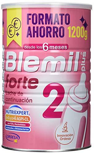 Blemil Plus Forte 2 Leche de continuación para bebé, 1 unidad 1200 gr. A partir de 6 meses.