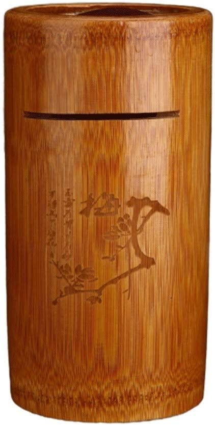 Piggy Bank Money Box Natural Solid Large Ranking TOP18 Wood Bamboo Dealing full price reduction