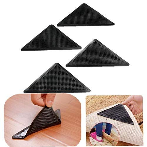 Casecover Teppich Greifer Teppich Anti-Rutsch-Pad mit starken Sticky Antirutsch Gerade Teppich-Klebeband für Gekräuselte Ecken & Kanten