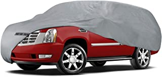 Motor Trend 4-Layer 4-Season Auto (Waterproof Outdoor UV Protection for Heavy Duty Use Full Car Cover for Vans, Suvs, Crossovers up to 200