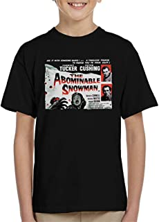 Hammer Horror Films Abominable Snowman Movie Poster Kid's T-Shirt