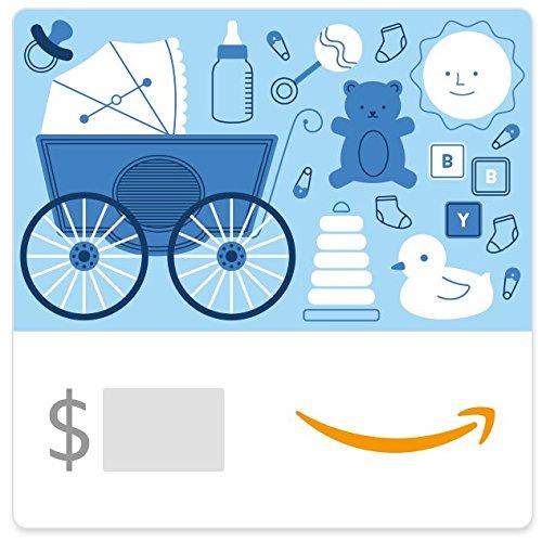 Amazon eGift Card - Baby Icons Blue