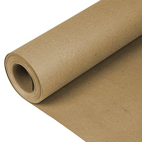 Plasticover PCBR360200 Rosin Paper, 36' x 200' (600 sq. ft.), Brown