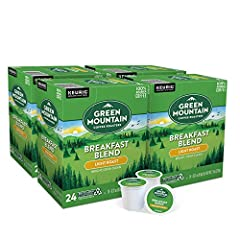 Convenient 96 count case (4 packs of 24) Light roast coffee Rich taste; Medium acidity Easy to use Kcups Packaging may vary from what is depicted on site image but product remains same Easy to use K cups, compatible with Keurig Brewers and all K cup ...