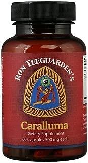Dragon Herbs Caralluma - 500 mg - 60 Vegetarian Capsules