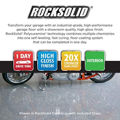 Rust-Oleum 293515 Rocksolid Polycuramine Garage Floor Coating