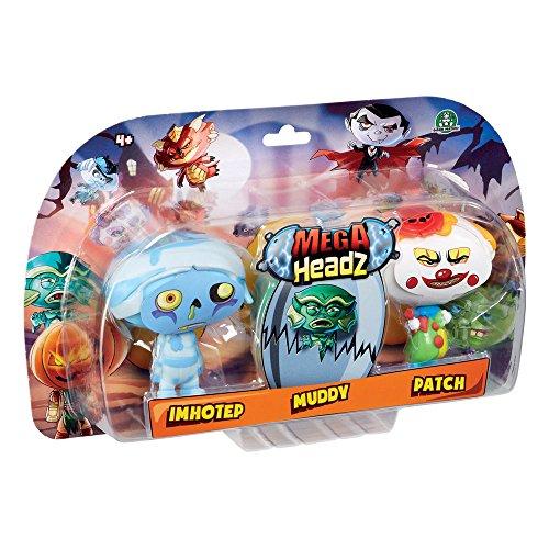Mega Headz hew02311 Triple Figuur Pack tekens willekeurig