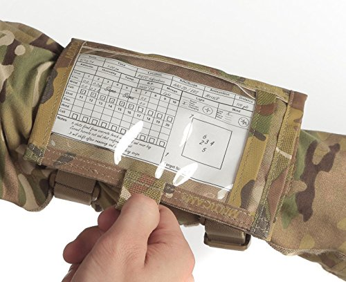 Raine Tactical Gear - Shooters Armband Sleeve - Tactical Gear - Wrist Sleeve - Shooting Range Accessories - Wrist Map Holder - Military Arm Pouch - Multicam