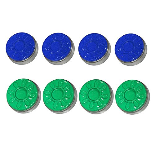 Learn More About Spangler Blue & Green Sun-Glo Shuffleboard Pucks