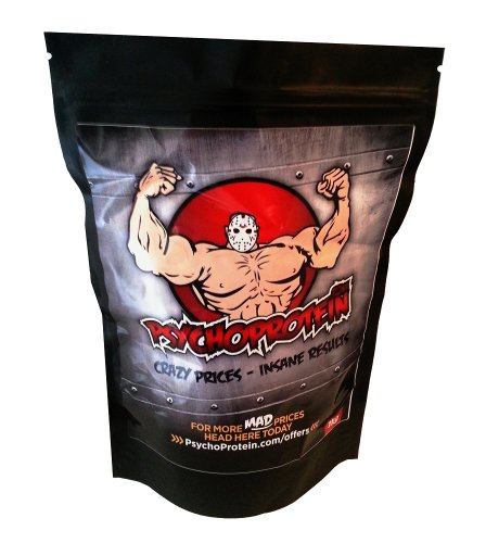 Psycho's Purest L-Arginine (Strongest Legal) 'Muscle Pump' Powder - 500grams
