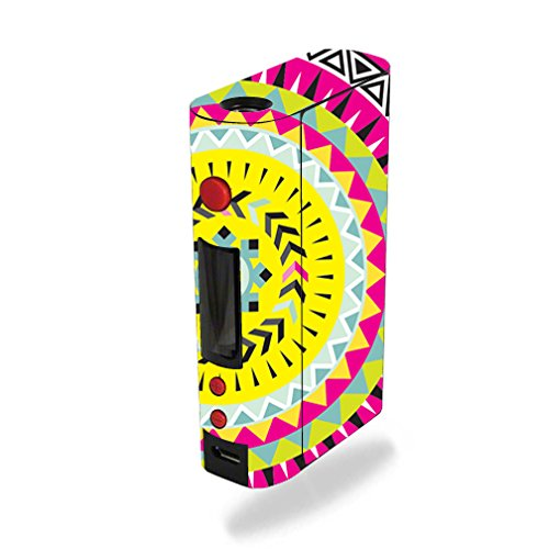 MightySkins Skin Compatible with Kanger KBOX 200W – Pink Aztec | Protective, Durable, and Unique Vinyl Decal wrap Cover | Easy to Apply, Remove, and Change Styles | Made in The USA