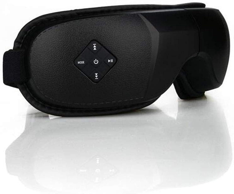 O&YQ Heies Augenpflegeinstrument Der Luftdruck Blautooth-Musikauge-Augenmassageausrüstung für Augenringe Der Augenringe, schwarz