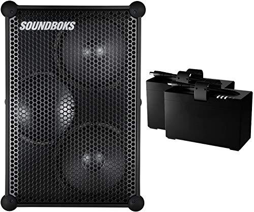 Die Neue SOUNDBOKS inkl. 2 Akkus - Der lauteste tragbare Bluetooth Performance Lautsprecher (126 dB, kabellos, Bluetooth 5.0, austauschbare Batterie, 40 St. durchschnittliche Batterielaufzeit)