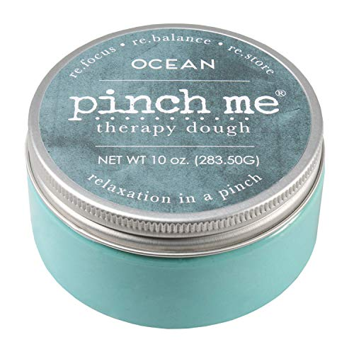 Pinch Me Therapy Dough - Holistic Aromatherapy Stress Relieving Putty - 10 Ounce… (Ocean)