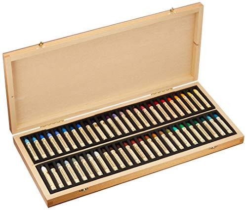 Sennelier Artist oil pastel set of 50 in luxury wood box  Best Price on Web