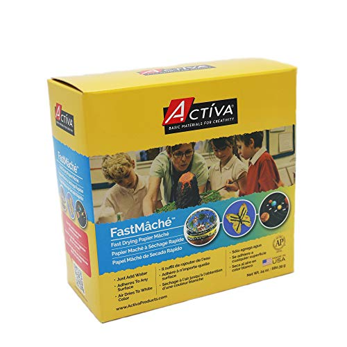 ACTIVA Fast Mache Fast Drying Instant Papier Mache - 2 pounds