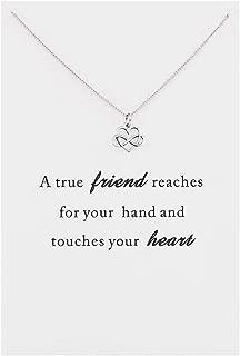 Zealmer CYBERNY Best Friends Cross Arrow Pendant Necklace Friendship Gifts for Women