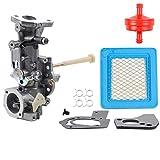 Dxent 498298 Carburetor for 692784 495951 492611 490533 495426 5HP w/Air Fuel Filter Gasket Parts Kit Engine Troy-bilt Rototiller Generac Generator Craftsman Tiller Power Washer Lawnmower