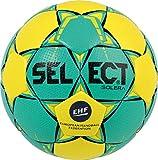 SELECT Solera Ballon de handball Unisexe, Jaune-Vert, Taille 3
