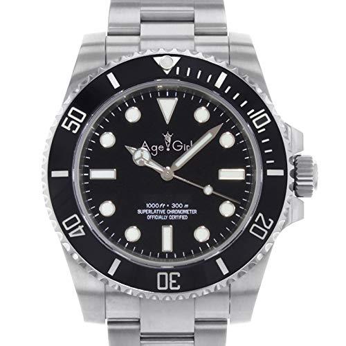 Männer automatische mechanische Uhren No Date Black Drive Keramik Lünette Crystal Sapphire Sport Oyster Armband