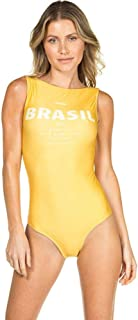 Body Regata Brasil AMARELO G A