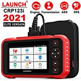 LAUNCH OBD2 Scanner CRP123i Code Reader Engine/Transmission/SRS/ABS Scan Tool, I/M Readiness Smog Check Car Diagnostic Tool with a Free Black Bag, Battery Voltage Check, AUTO-VIN, WiFi Free Update