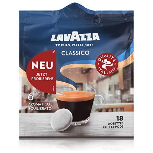 Lavazza Kaffeepads Classico 18 Pads - Für Kaffee-Padmaschinen 125g Röstkaffee
