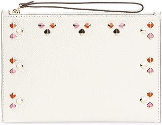 Kate Spade Ladies Medium White Leather Wistlet