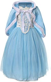 Xcr-f-3 4-8yrs Girls Luxury Disney Frozen Dress Princess Cosplay Dress