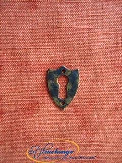 Paletón de la llave Biedermeier cresta muy pequeño 34 x 24 - Stilmelange calidad en Europa desde 1998