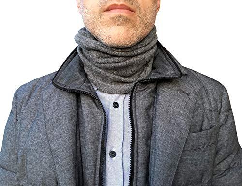 Sciarpa Anello Uomo Invernale, Scaldacollo Cachemire Inverno Uomo