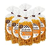 Al Dente Plant Based Pasta Chickpea + Turmeric, 8 Ounce (Pack of 6)
