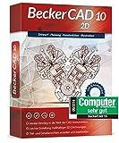 Markt & Technik Becker CAD 10 2D Versione Completa, 1 Licenza Windows CAD-Software