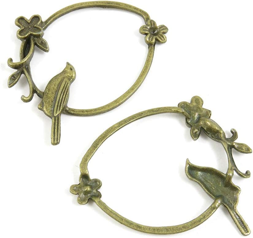 240 PCS Metal Antique Bronze Making Ranking TOP20 Supplies Color Charm Cheap bargain Jewelry