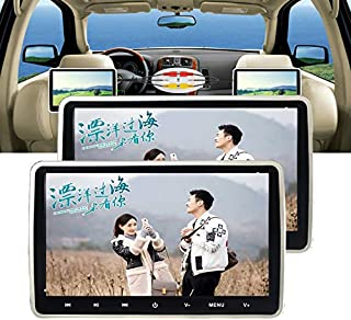 "2pcs 10.1"" Car DVD Players for Kids with Headphone, Support 1080P Video,with Game Disc, HDMI Input, Region Free, AV in/Out..."