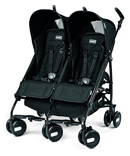 Cheap Peg Perego Pliko Mini Twin Baby Stroller, Onyx