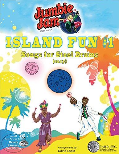 Panyard JJ5504 Jumbie Jam Kerst Tunes voor Steel Pan Book met CD-P Eiland Plezier 1