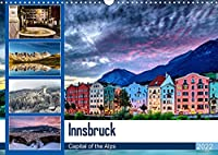 Innsbruck - Capital of the AlpsAT-Version (Wandkalender 2022 DIN A3 quer): Innsbruck - Hauptstadt der Alpen (Monatskalender, 14 Seiten )