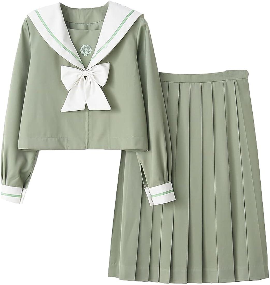 KUFEIUP Girls College store JK Max 58% OFF School Suit Shirt Dress Sailor Uniform