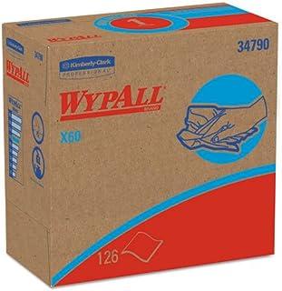 X60 Wipers, Nylon, 9 1/8 x 16 7/8, 126/Box, 10 Boxes/Carton, Sold as 1 Carton