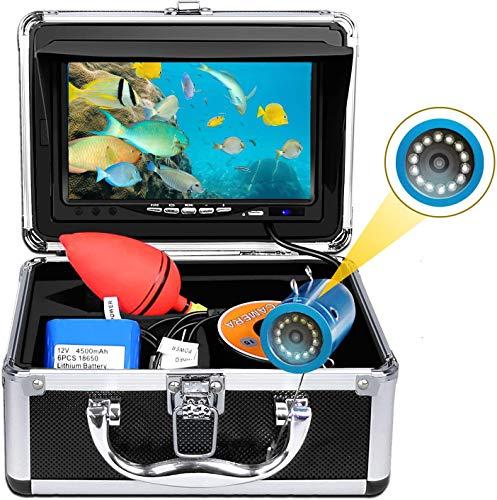 okk Cámara de Pesca subacuática,Monitor TFT de 7 Pulgadas 12 Piezas LED...