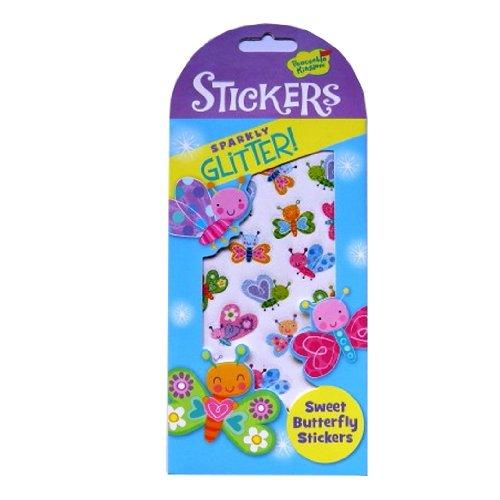 Peaceable Kingdom Sparkle Glitter Autocollants - Papillons Doux