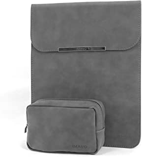 IMAVO Macbook Pro 15 インチ ケース パソコンケース ノートパソコンケース MacBook Pro Retina 15.4 インナーケース スリーブケース 15-16インチ グレー