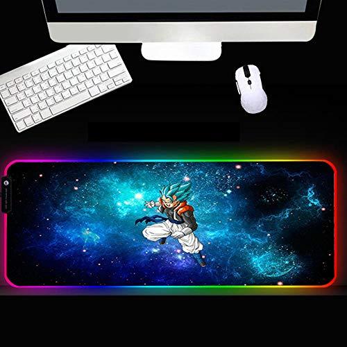 XIAOYANG Alfombrilla de goma RGB para ratón, accesorios para jugador, alfombrilla grande LED, para videojuegos, XXL, con retroiluminación para ordenador portátil, 300 x 900 x 4 mm, estilo 5