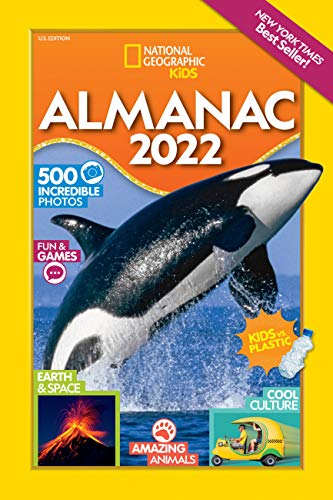 National Geographic Kids Almanac 2022, U.S. Edition (National Geographic Kids Almanac (Quality))
