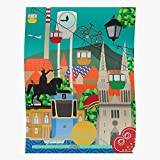 Swedese City Colorful Zagreb 2D Graphic Das