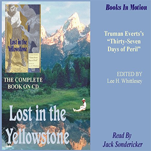 Lost in the Yellowstone audiobook cover art