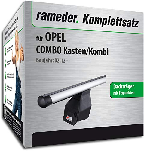 Rameder Komplettsatz, Dachträger Tema für OPEL Combo Kasten/Kombi (118849-10000-1)