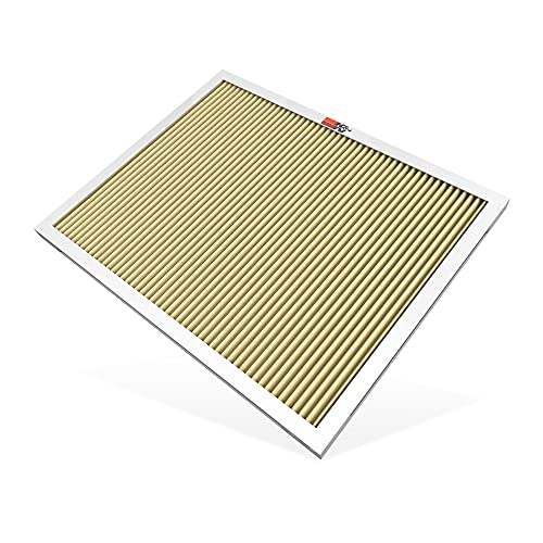 K&N 16x20x1 HVAC Furnace Air Filter, Lasts a Lifetime, Washable, Merv 11, the Last HVAC Filter You Will Ever Buy, Breathe Safely at Home or in the Office (Actual Dimensions.8 x 19.6 x 15.6 inches)